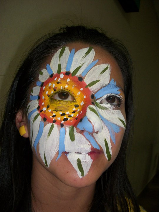 thematic parties, kids facepainting, art painting