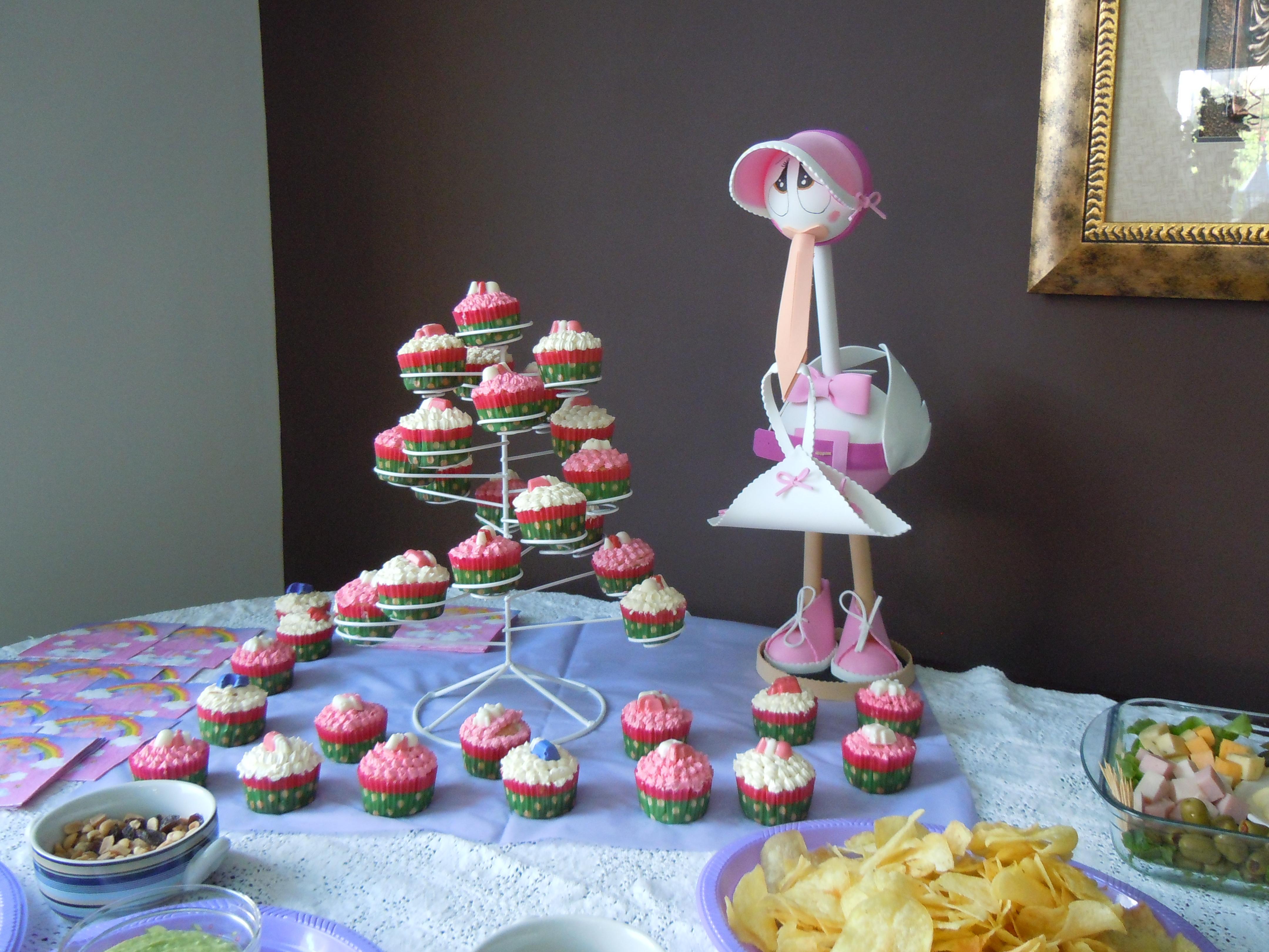 babyshower decoration, cupcakes, cakes amsterdam