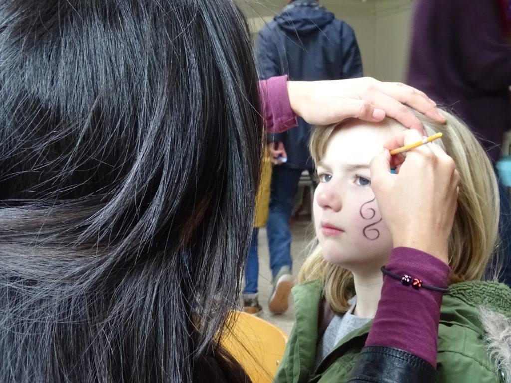 facepainting amsterdam, princess facepainting