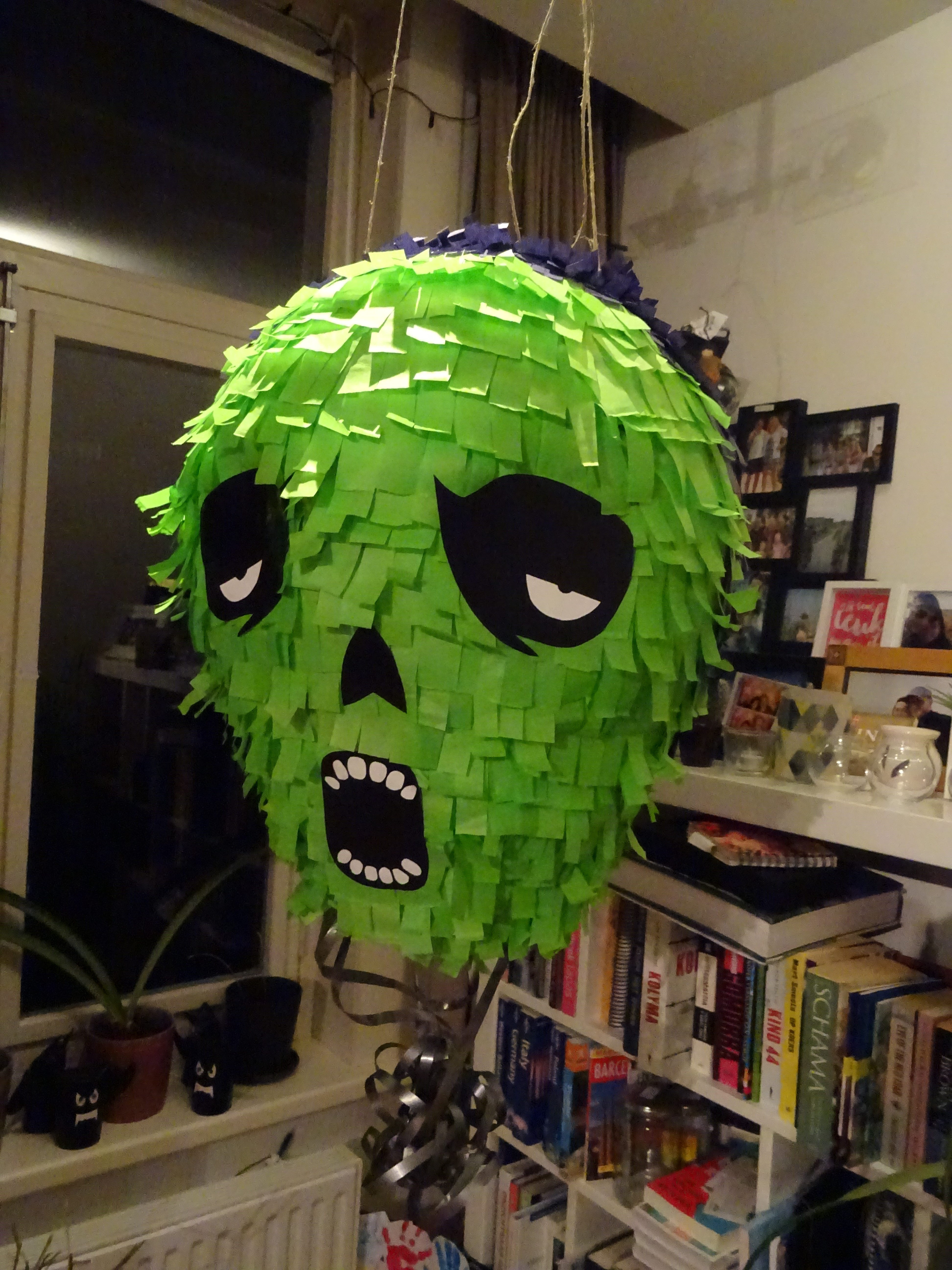 Pinata for a horror themed party
