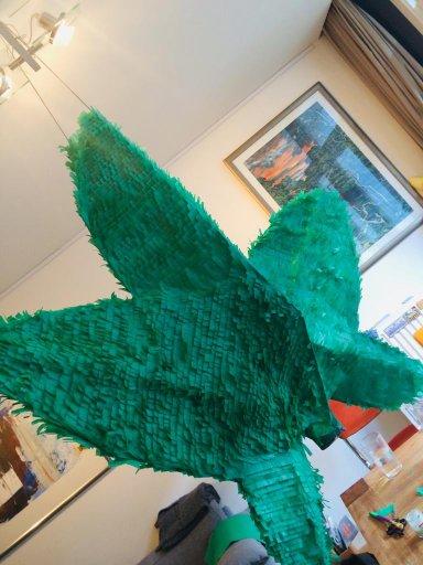 A crazy pinata, like this marihuana pinata